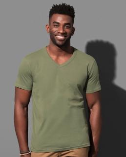 T-shirt con scollo a V Ben