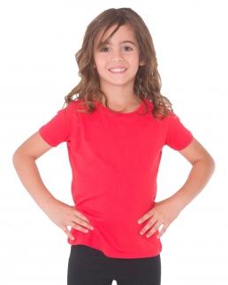 T-shirt bambina manica corta