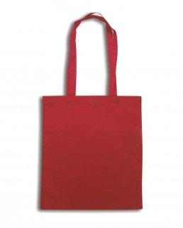 Borsa shopping in cotone manici lunghi