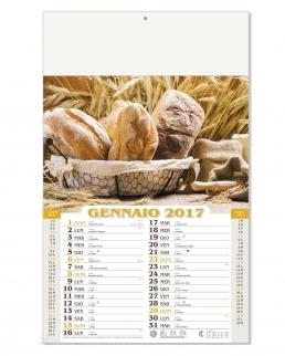 Calendario Mensile Pane e Pasta