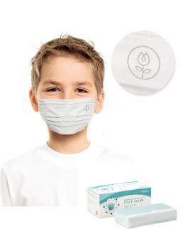 Mascherine chirurgica bambini certificata scatola personalizzabile
