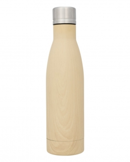 Borraccia termica con isolamento sottovuoto in rame Vasa wood 500ml