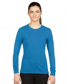 T-shirt donna maniche lunghe Performance