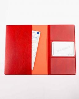 Porta documenti 2 ante con doppie tasche Mexico e porta card