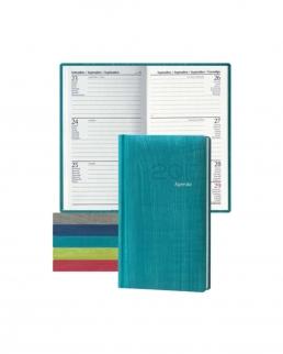 Pastel Weekly Pocket Agenda settimanale tascabile