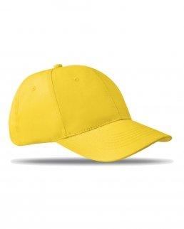 Cappellino con 6 pannelli
