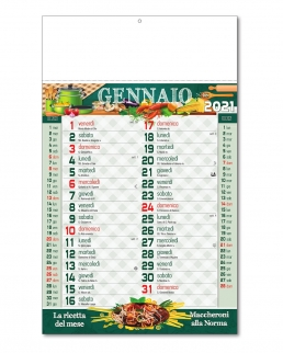 Calendario Ricettario