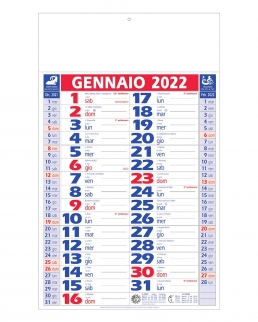 Calendario olandese r/b bilaterale