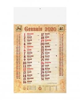 Calendario Olandese Antiqua 12 fogli