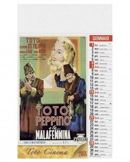 Calendario olandese illustrato Totò