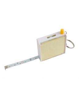Flessometro con foglietti penna e portachiavi