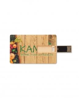 Chiavetta USB 2 Gb in paglia e PP