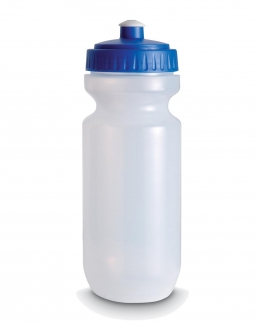 Bottiglia con tappo colorato