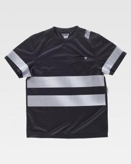 T-Shirt manica corta alta visibilità