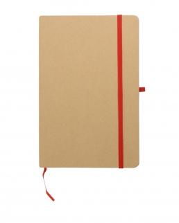 Quaderno a righe in carta riciclata