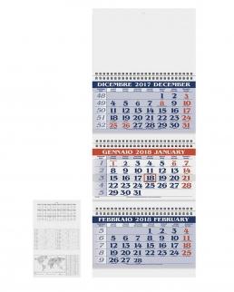 Calendario Trittico Spirale
