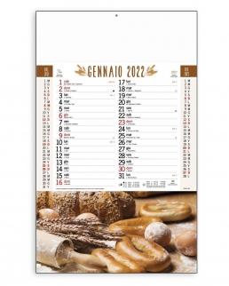 Calendario Pane trimestrale 12 fogli
