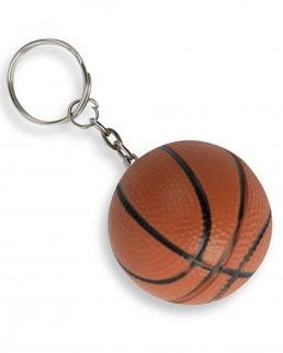 Portachiavi antistress pallone da basket