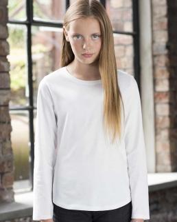 T-shirt bambina maniche lunghe