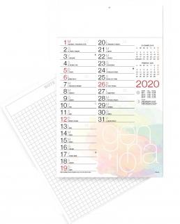 Calendario olandese design
