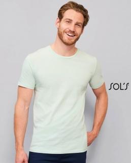 T-shirt uomo slim girocollo Martin