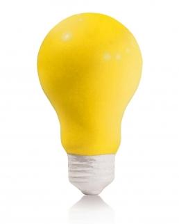 Antistress a forma di lampadina