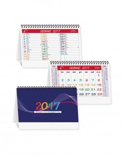 Calendario da tavolo 2017