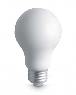 Antistress lampadina in PU