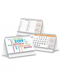 Calendario da tavolo Mini day by day