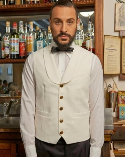 Gilet Uomo Bartender