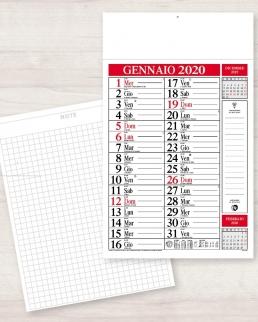 Calendario olandese notes