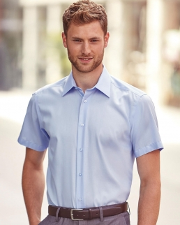 Camicia Tailored Ultimate maniche corte non-stiro
