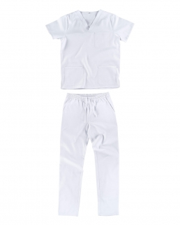 Kit pantalone e casacca unisex