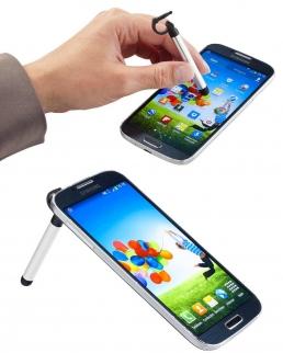 Porta cellulare e pennino in alluminio Jazz