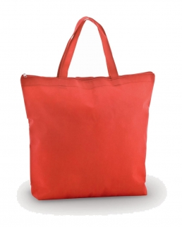 BORSA SHOPPER TNT CHIUSURA CON ZIP