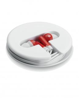 Auricolari con un astuccio rotondo Sonosoft