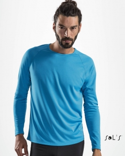 T-Shirt Sporty maniche lunghe
