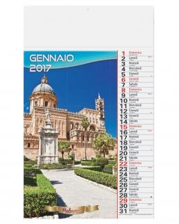 Calendario olandese illustrato Sicilia