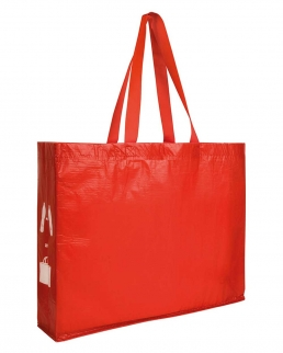 Shopper con soffietto in R-PET