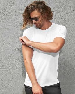 T-shirt uomo in cotone organico