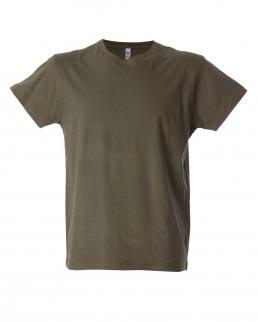 T-shirt manica corta girocollo cuciture n contrasto Saragoza