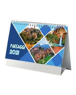 Calendario da tavolo città e paesaggi