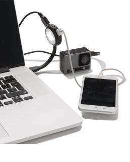 Hub USB con luce