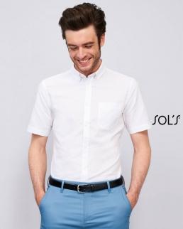 Camicia uomo manica corta Brisbane fit