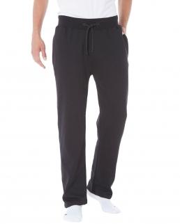 Pantaloni felpati con elastico in vita jhk