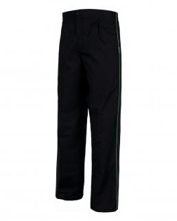 Pantalone unisex con strisce in contrasto