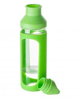 Borraccia in vetro e silicone 590 ml BPA Free