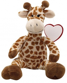 Peluche felpato giraffa MAURICE