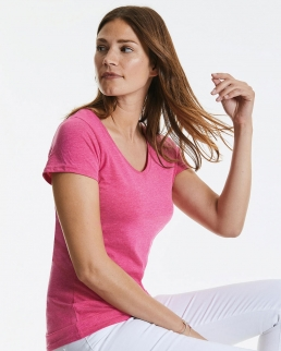 T-shirt donna HD scollo a V