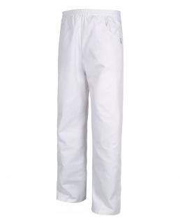 Pantalone unisex fondo dritto con elastico in vita